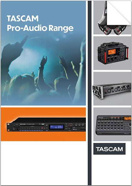 Tascam Pro-Audio Range